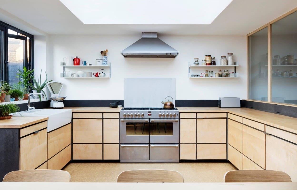 п-образная кухня без верха