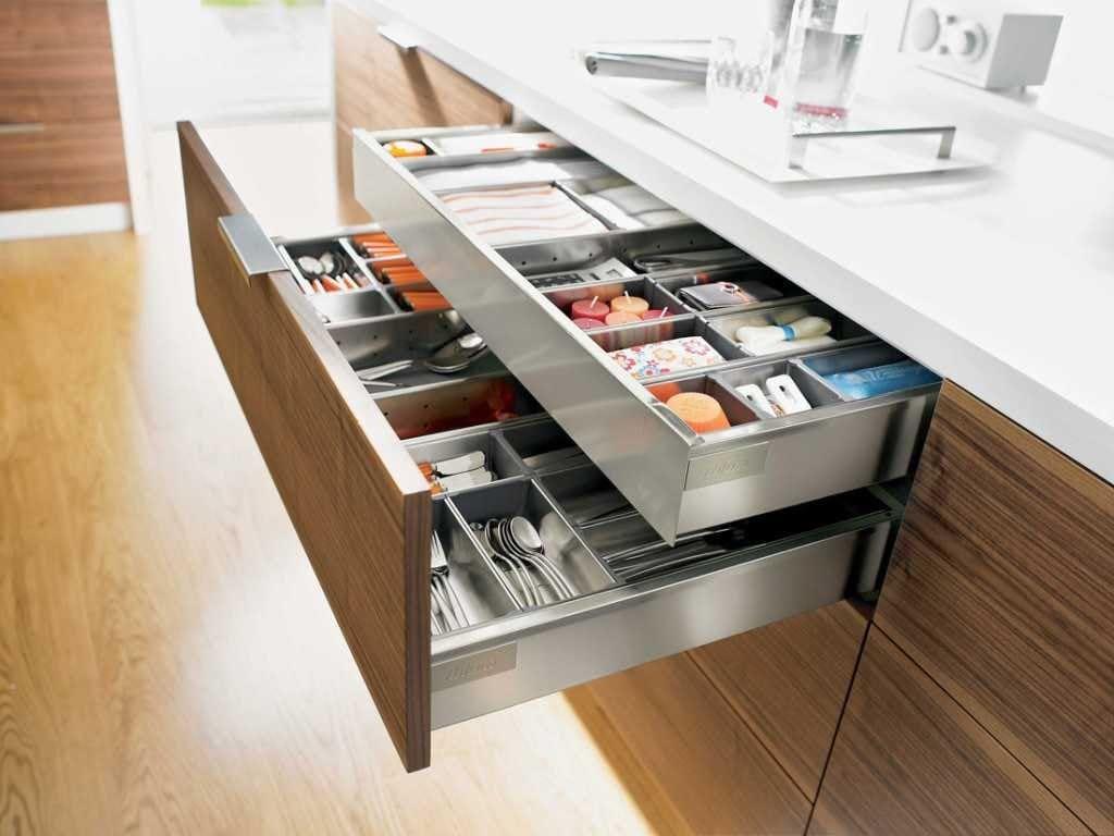 выдвижные ящики blum для кухни