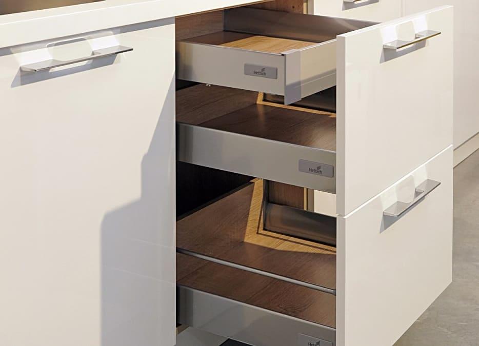 кухонные ящики hettich